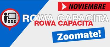 Capacitaciones ZOOMATE - Cronograma Noviembre
